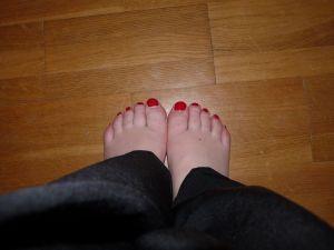 je déteste mes pieds !