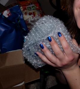 Lors du déballage de cadeaux le 25 décembre dernier