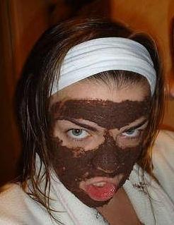 Lush masque frais Cupcake chocolat grasse