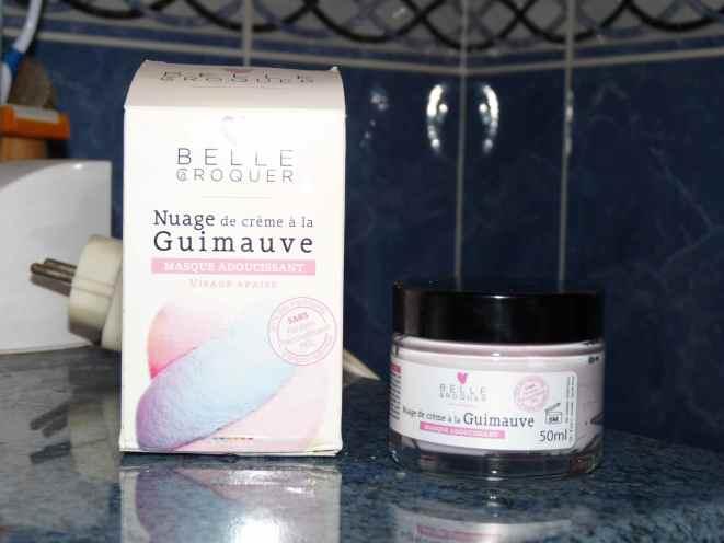 Belle croquer masque nuage crème guimauve