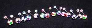 NOMBRIL : Morpion, plein de couleurs au choix !