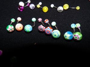NOMBRIL : les étoiles, plein de couleurs au choix !