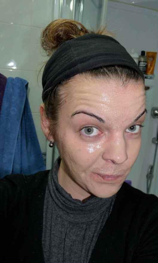 Montagne Jeunesse fudge sauna masque visage chauffant