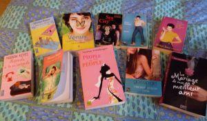 Ma toute petite collection de chicklit en 2010