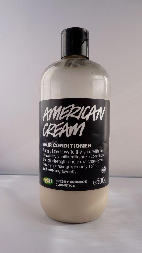 Lush shampooing america cream