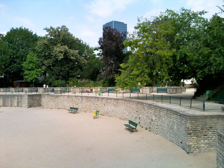 arènes Lutèce lieu histoire Paris