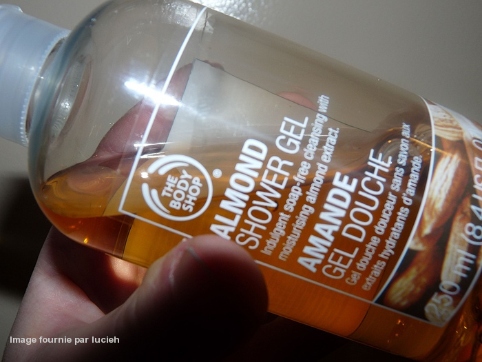 The body Shop TBS gel douche amande Amanda