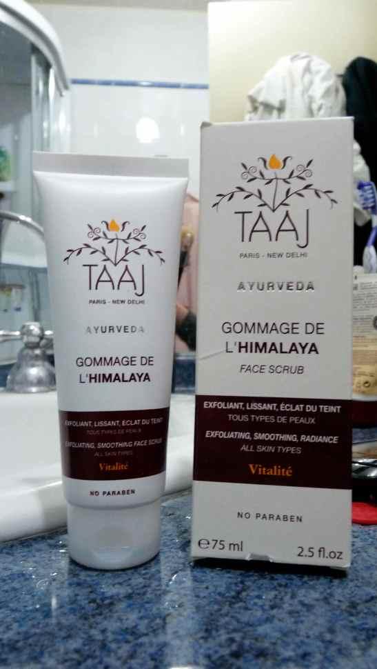 Taaj gommage visage Himalaya