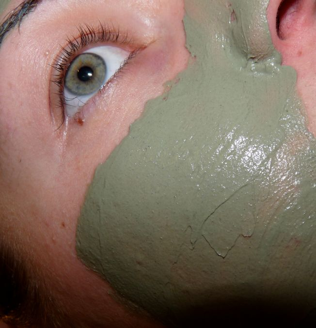Juvaflorine masque visage argile verte