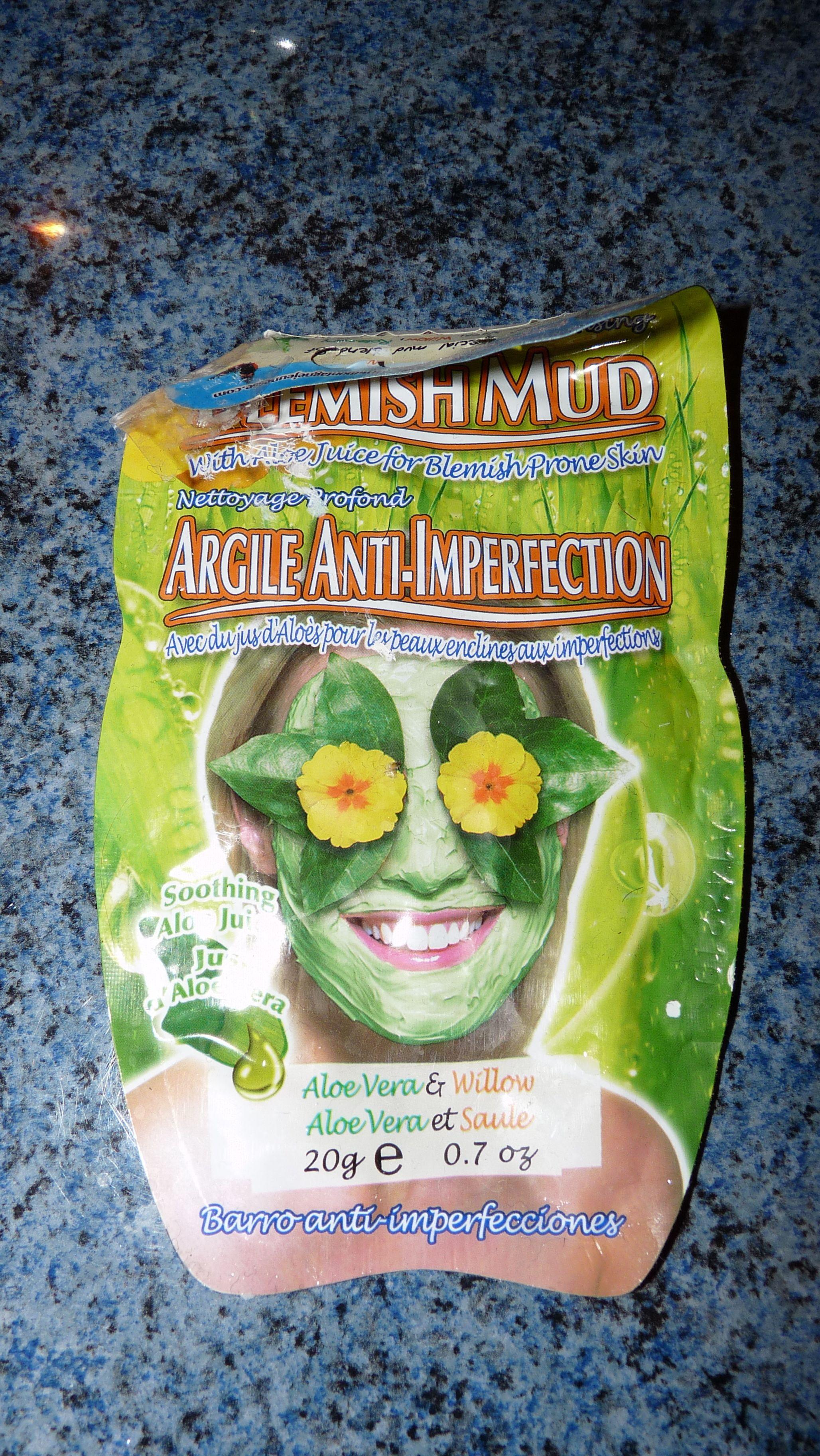Montagne Jeunesse masque argile anti-imperfection aloe vera saule