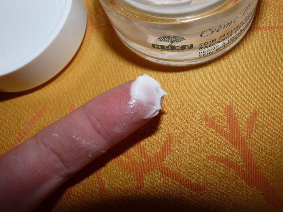 Nuxe crème étincelante soin peeling éclat coquelicot