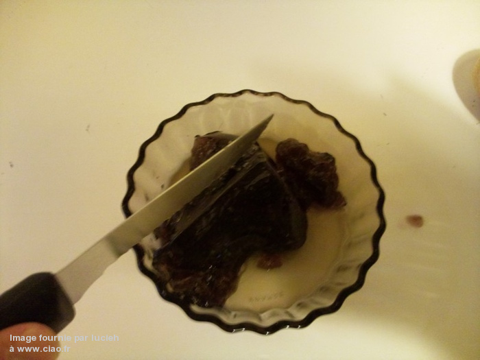 Lush gelée douche sweetie pie cerises plum pudding