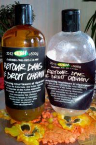 Lush rehab retour droit chemin shampooing miracle