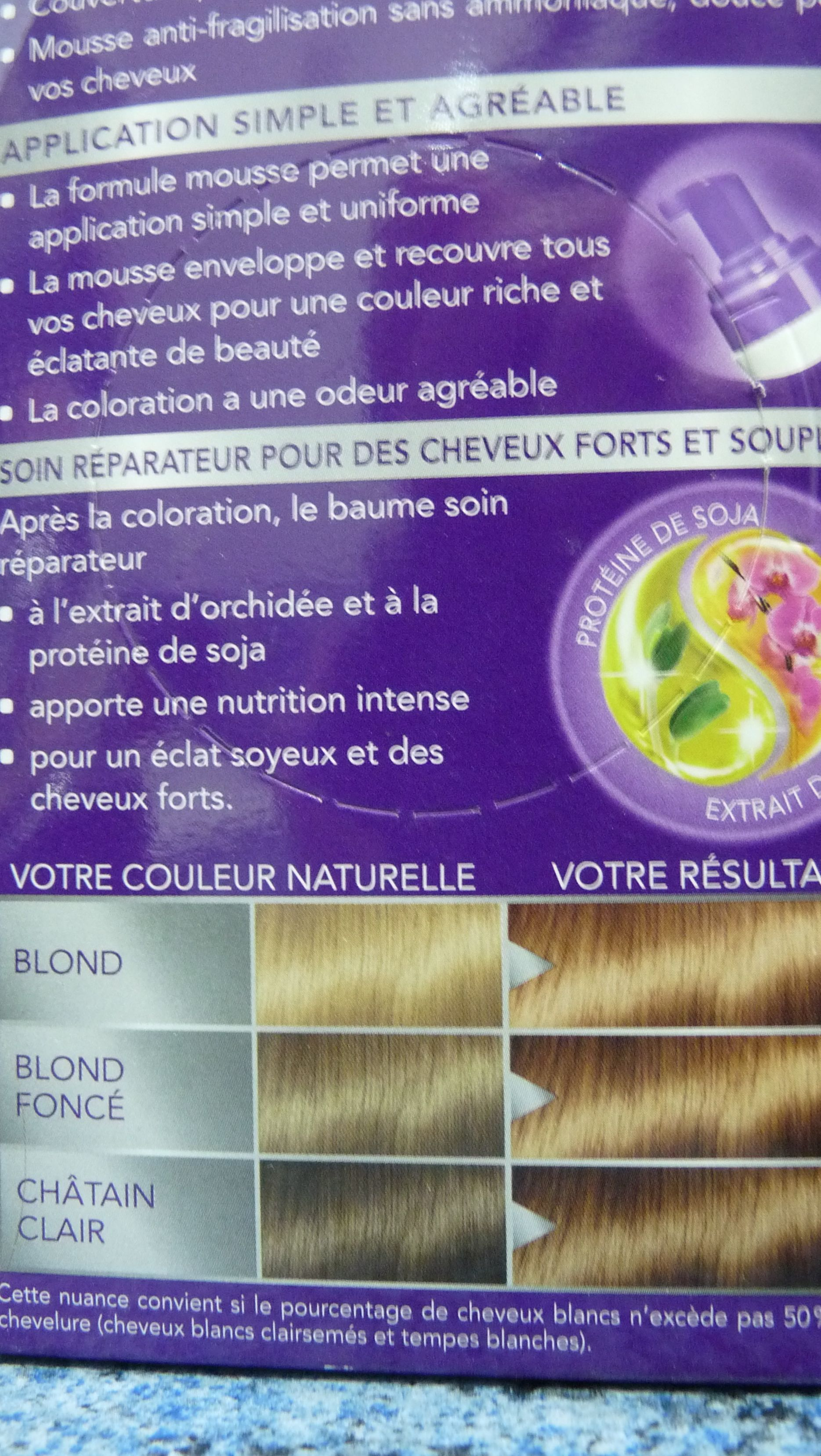 schwarzkopf coloration Perfect mousse