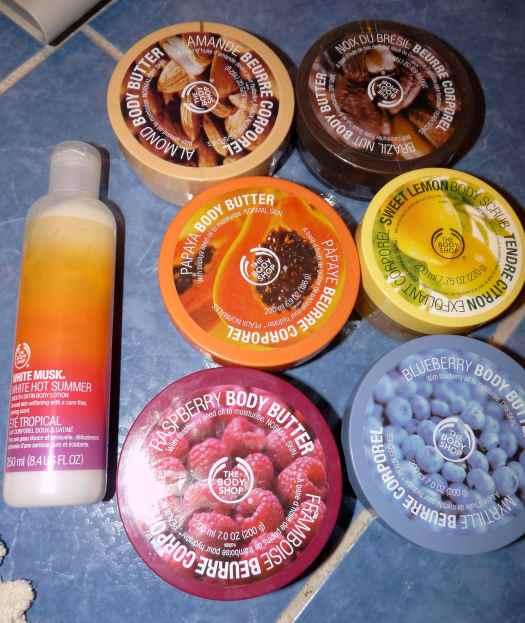 TheBodyShop lait hydratant corps white musc
