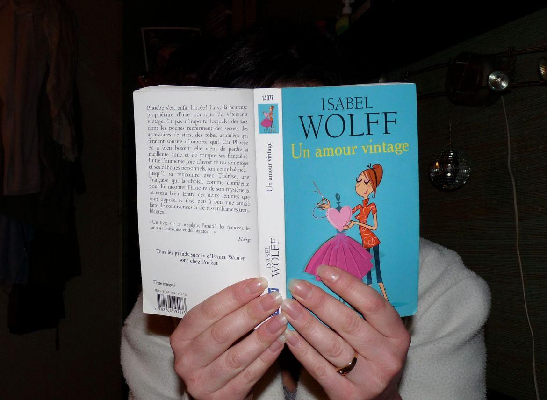 amour vintage roman Wolff chicklit