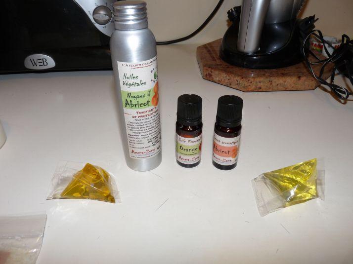Les huiles et macérats huileux