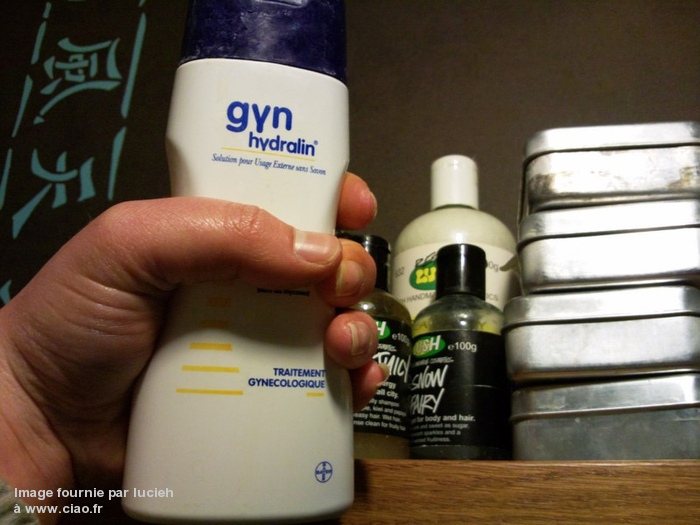 Gyn Hydralin savon toilette intime hygiène