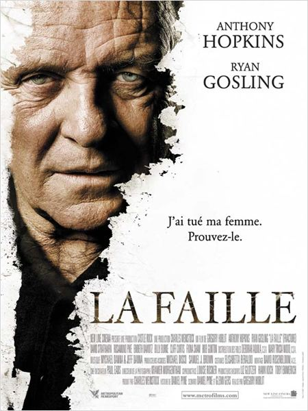 La Faille film cinéma Anthony Hopkins Ryan Gosling