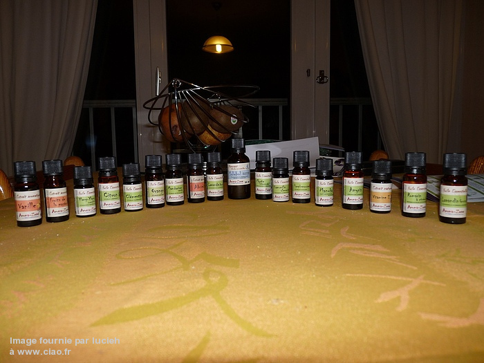 "Ma ""petite"" collection d'huiles AZ"