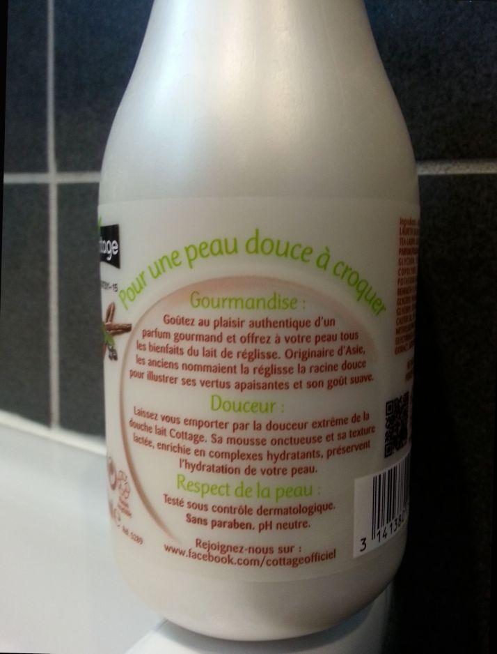 Cottage douche lait de réglisse