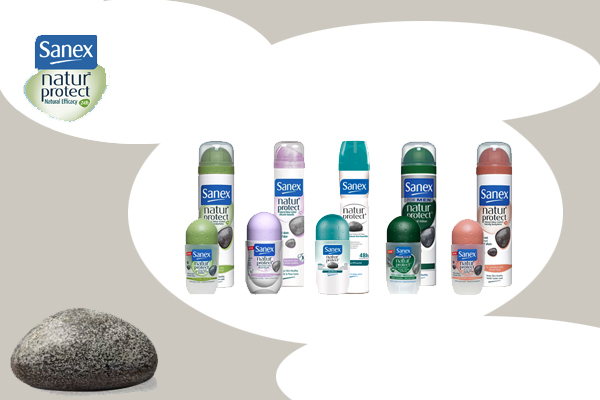 Sanex natur'protect déodorant pierre alun
