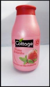 Cottage fraise gel douche menthe