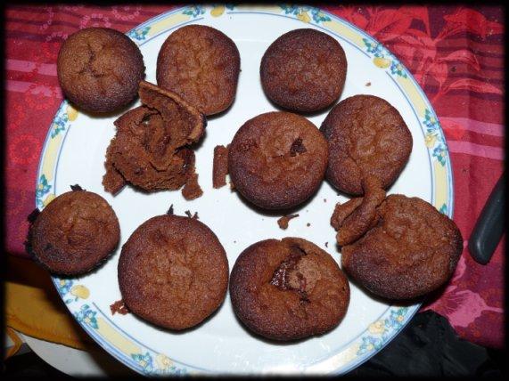 catastrophe si les muffins sont encore chauds !
