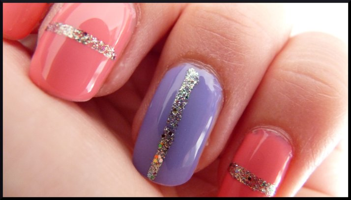 Sur mes ongles