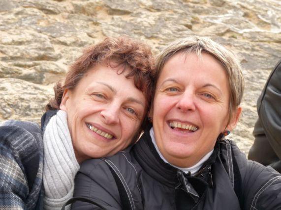 Ma maman et ma tata ( mode portrait )