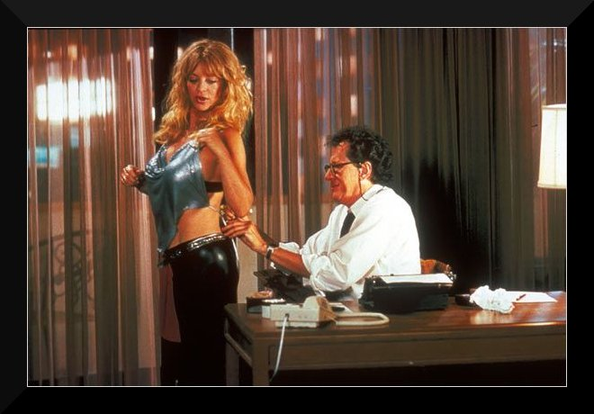 Goldie Hawn ( Suzette ) et Geoffrey Rush ( Harry )