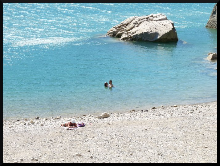 Bauduen Sainte Croix lac Var