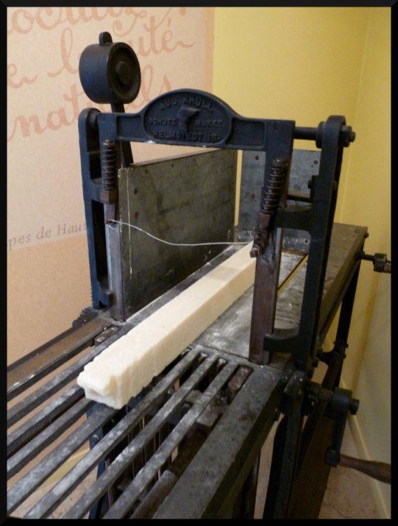 L'art de couper les blocs de savon