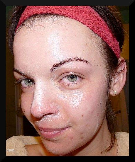 peau pendant nettoyage et vieille tronche