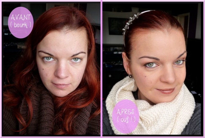 maquillage dézombifier teint rapide minute make-up