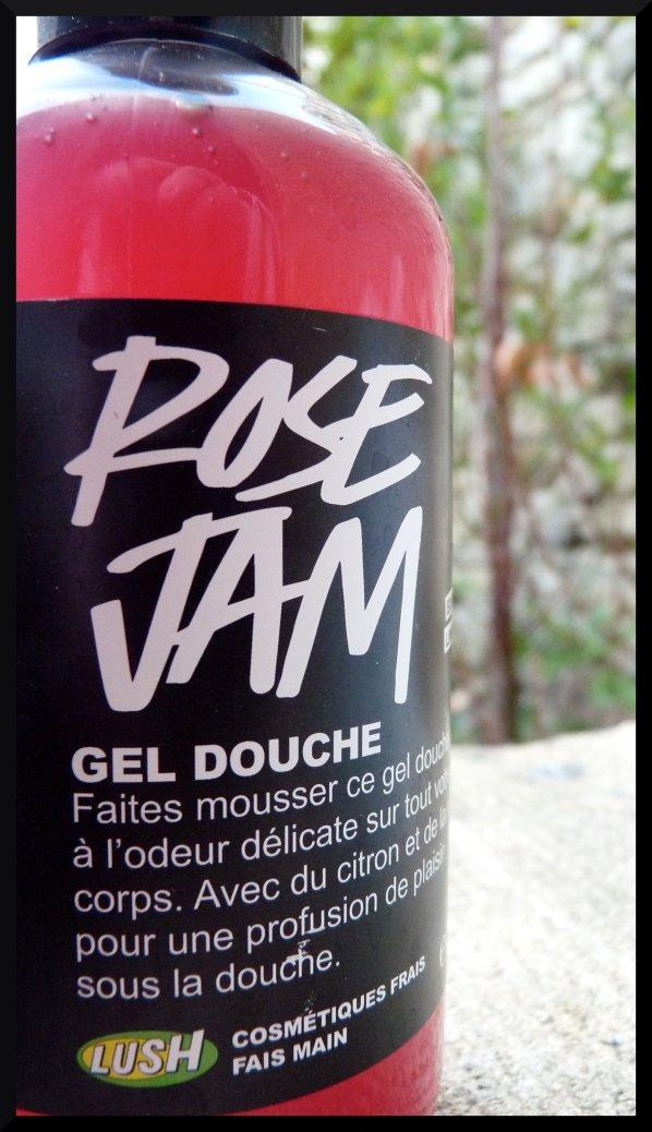 Lush gel douche Rose Jam