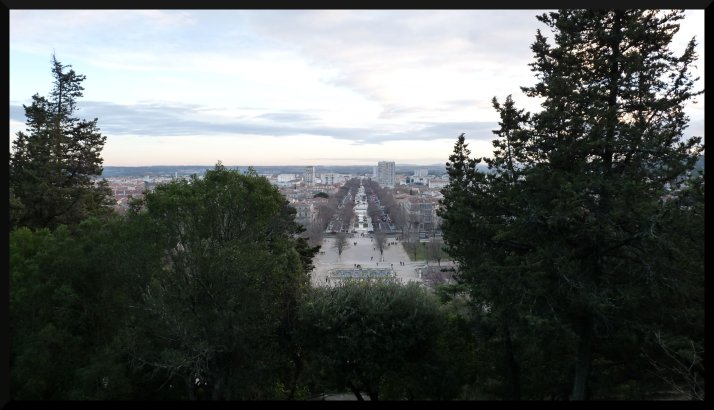 Panorama sur la ville