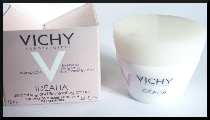 Vichy Idéalia crème lumière lissante