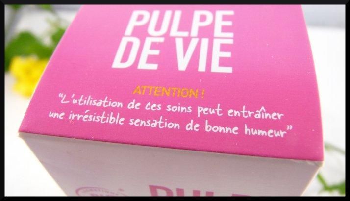 Pulpe de Vie masque gommage Sucré Frappé