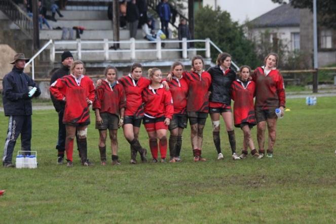Ambre Marcou qui voulait faire partager sa passion du rugby féminin !