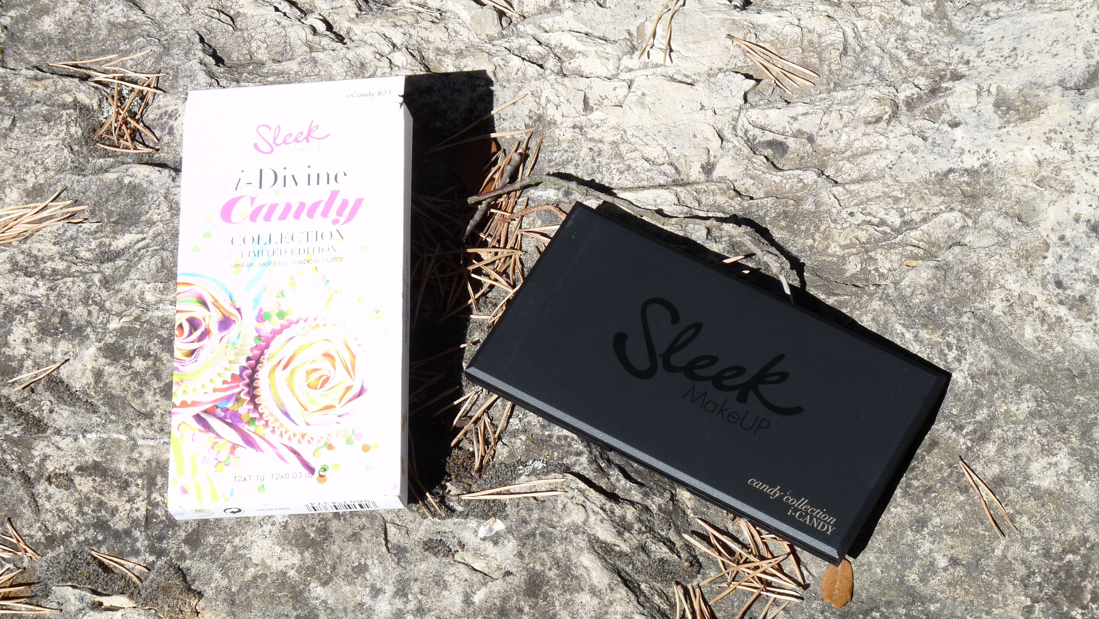 maquillage sleek palette Candy i-divine