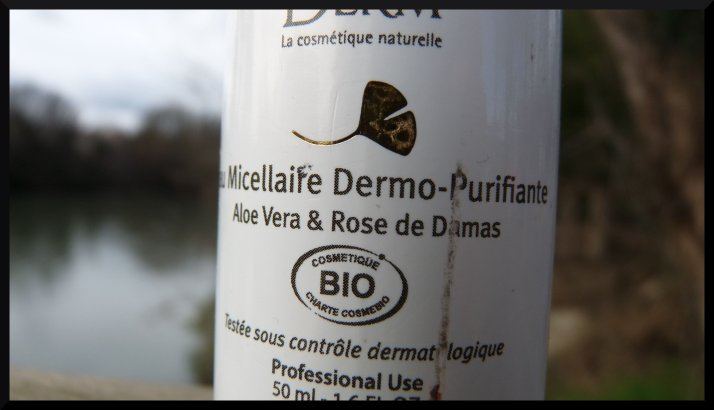 Effiderm eau micellaire bio Ineldea dermo-purifiante