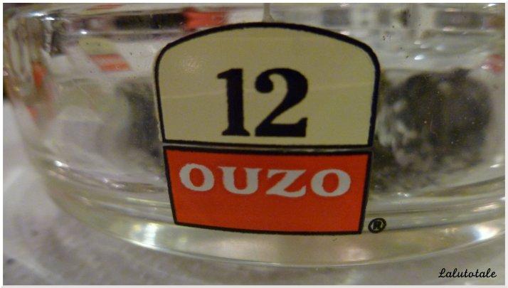 En France on a le Pastis 51, en Crète on a l'Ouzo 12.