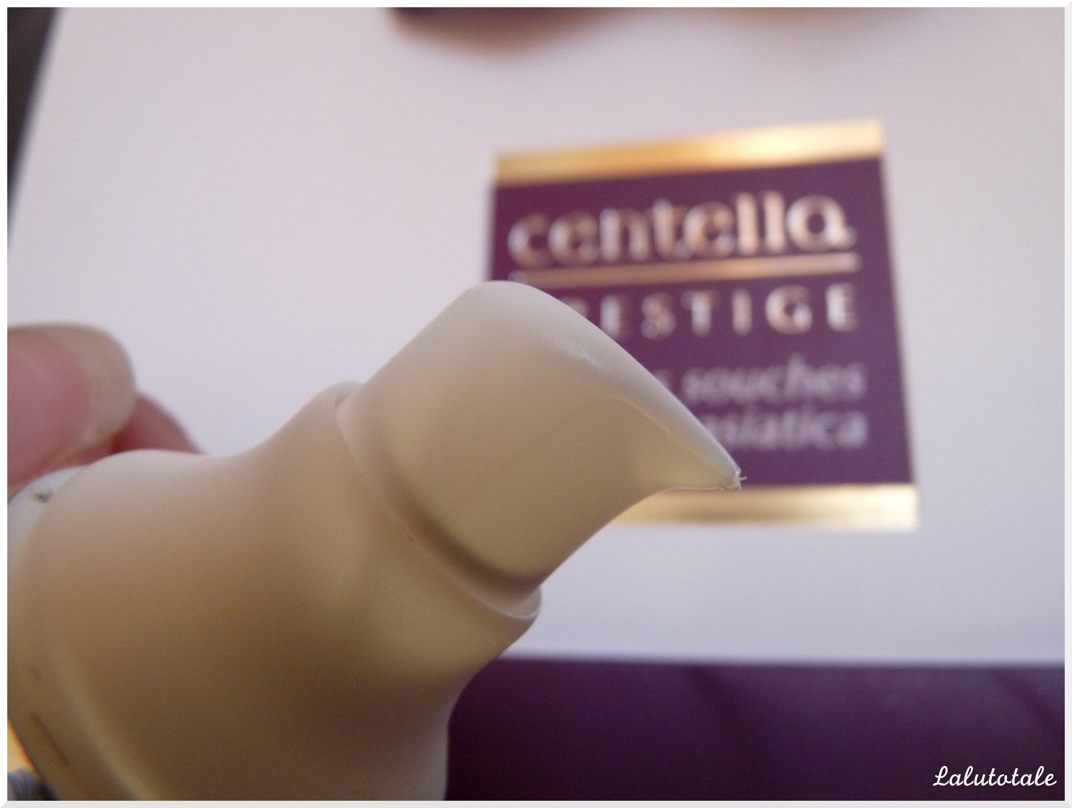 centella lys blanc crème sérum éclaircissant visage