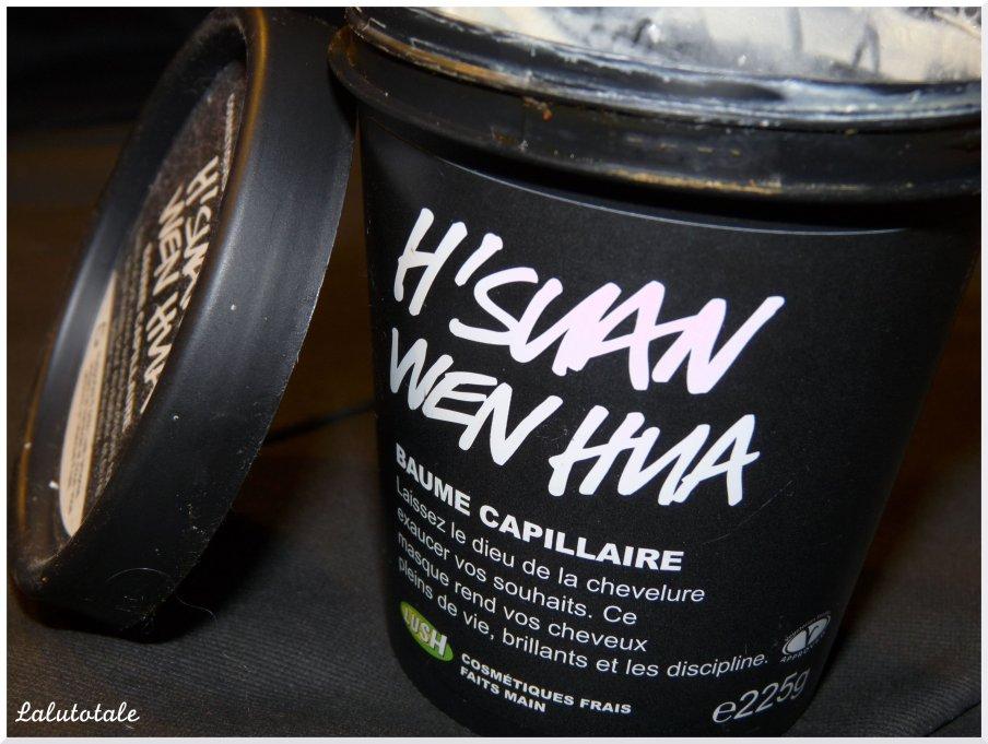 Lush Hsuan wen hua cheveux masque