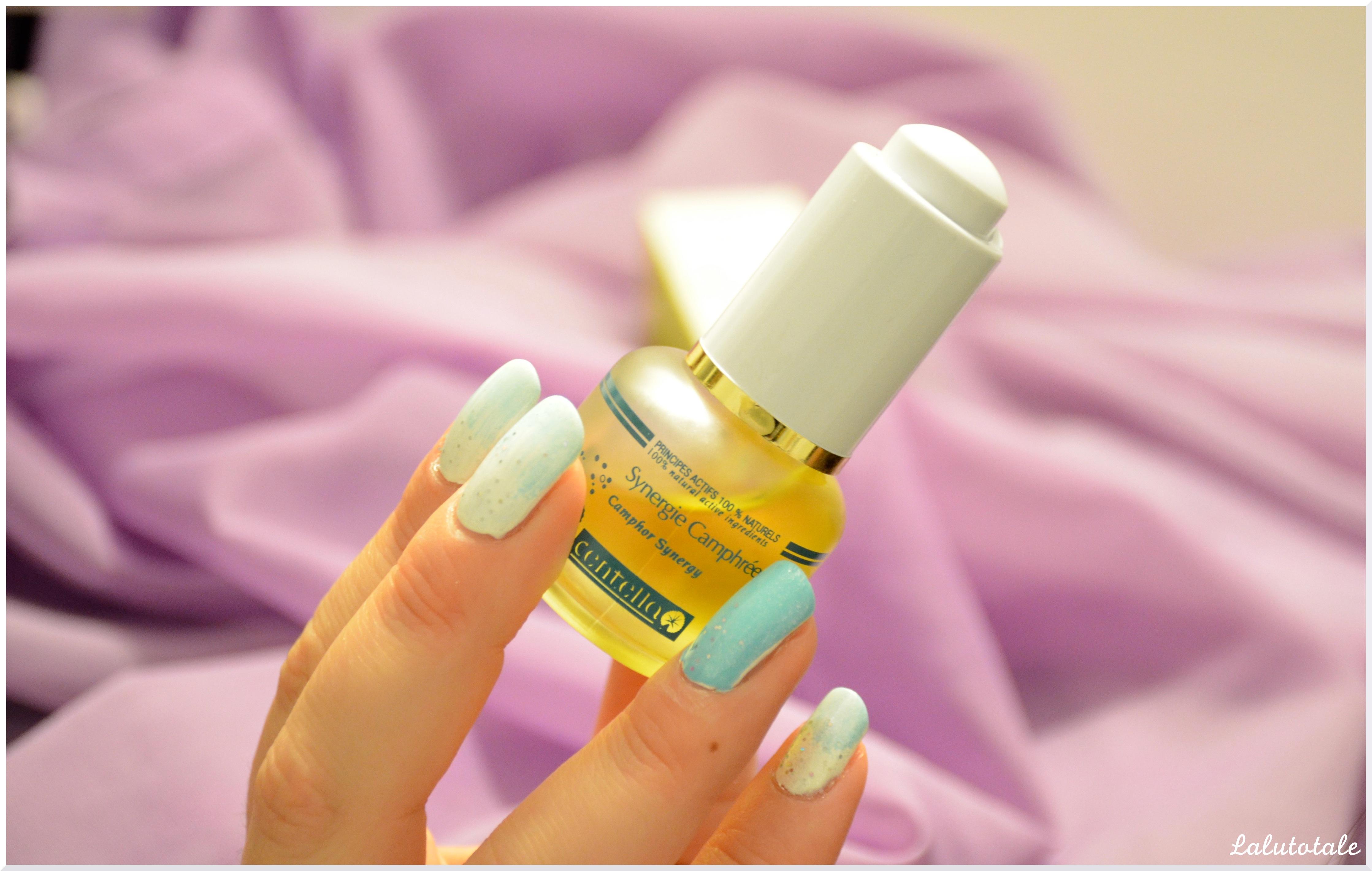 Centella sérum Synergie Camphrée huiles naturel