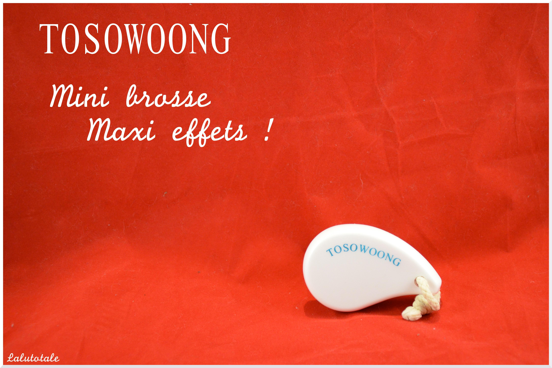 Review de la brosse de nettoyage visage Tosowoong